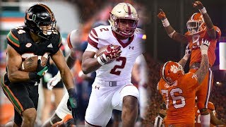 2018 ACC Football Scheduled Released: Games To Watch