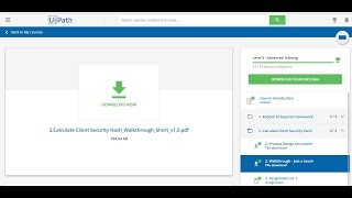 Uipath advanced training assignment 1 - Challenges and