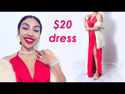 How To Slay In A $20 Dress 🌹