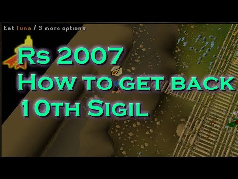 runescape 2007 how to get back 10th squad sigil from monkey madness quest
