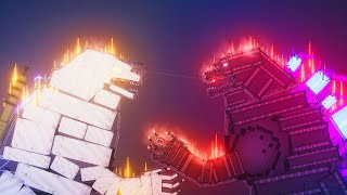 Godzilla vs MechaGodzilla [Zebra Gaming TV] People Playground