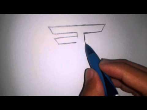 How to draw the FaZe Clan Logo
