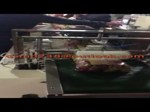 15 bags snacks packaging machine ,Snacks flow pack machine ,multi snacks packing machine