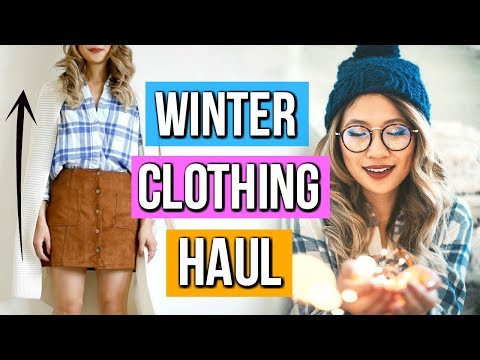 Clothing Haul for Fall to Winter 2018!
