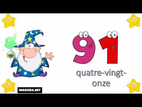 Learn The French Numbers # From 0 To 100