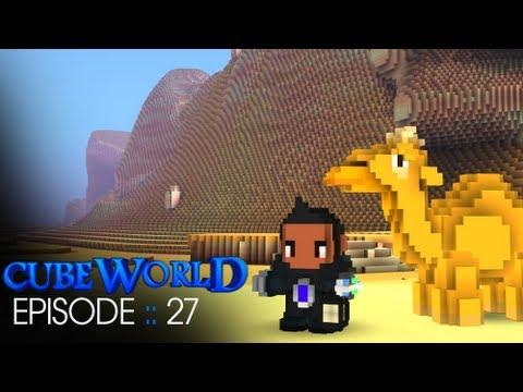 Cube World :: Episode 27 :: Hot in the Desert