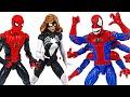 Marvel Spider man And Woman Defeat 6 Hands Demogoblin DuDuPopTOY