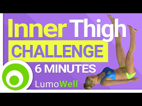 Inner Thigh Challenge Workout. Get Rid of Inner Thigh Fat | 6 Minutes