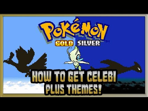 How to get Celebi & Gold and Silver Themes in Pokémon Sun & Moon Tutorial. @Poijz