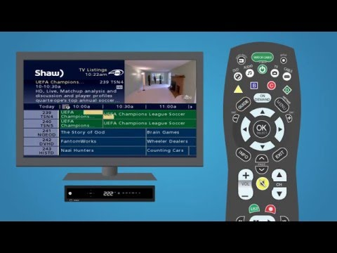Using the interactive channel guide   Support & How To - Classic Guide   Shaw