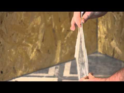 How to Lay Vinyl Tile on the Diagonal : Flooring Repairs