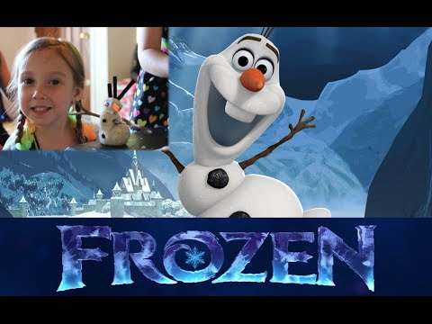 How To Make an Olaf Play Dough Craft - Frozen