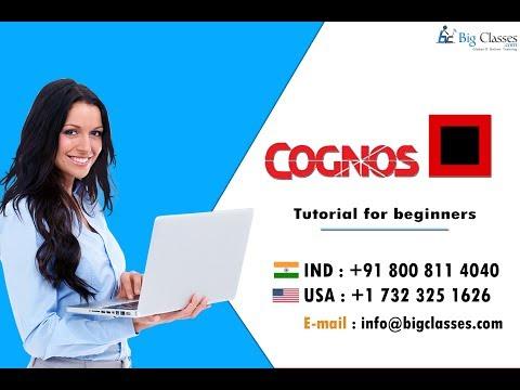 Cognos tutorial -  Cognos training tutorial overview BigClasses