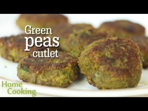 Green Peas Cutlet Recipe | Ventuno Home Cooking
