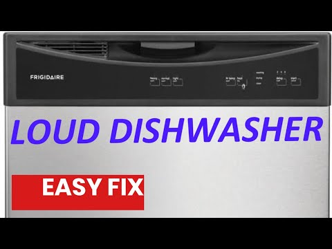 Loud Dishwasher — EASY FIX