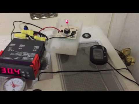 DIY-Incubator Digital Temperature and Humidity Control