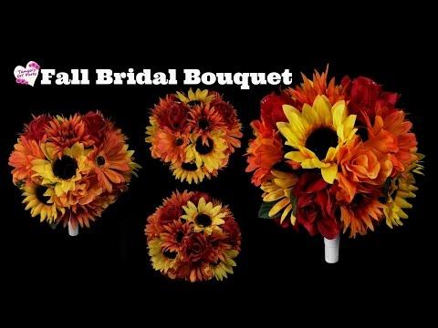 Fall Bridal Bouquet Tutorial