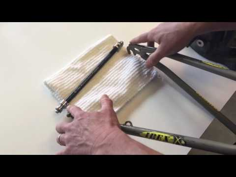 How to Bend a BOB Trailer Yoke to Fit Your Bike