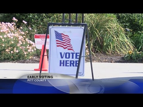 Eastern N.C. residents take advantage of early voting