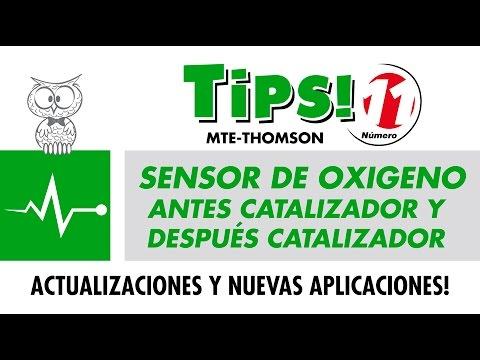 TIPS 11 - SENSOR DE OXIGENO ANTES CATALIZADOR Y DESPUÉS CATALIZADOR