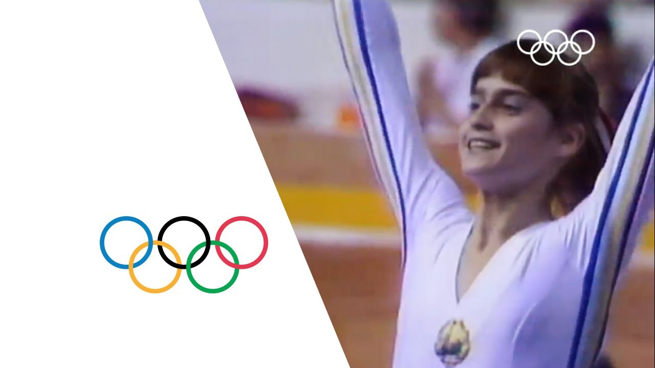 Nadia Comaneci - First Perfect 10 | Montreal 1976 Olympics
