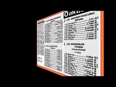 1982 Easter Racing _ Oakbank and Randwick Audio