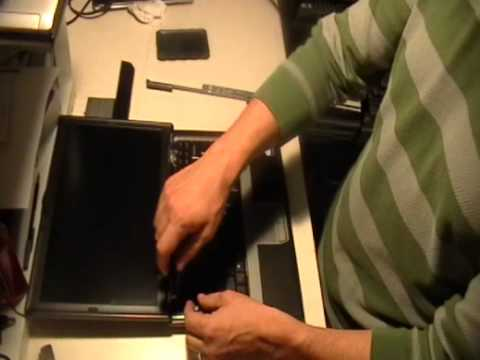 How to Replace Keyboard in a Laptop - Dell D620 (D520, D630, D830)