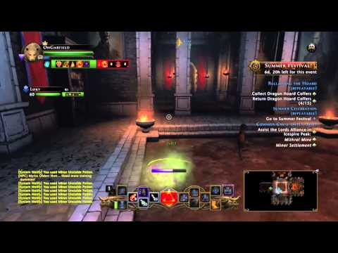 Neverwinter having fun with potions