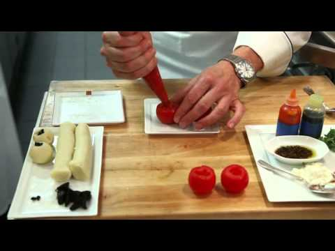 how  to prepare  dish of Duo of Beef by 3 star Michelin chef Daniel Boulud