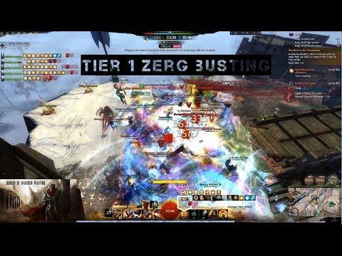 [BoRP] GW2 WvW Tier 1 Zerg Busting with Spellbreaker