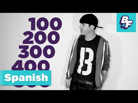 Count to 1000 in Spanish with BASHO & FRIENDS - [Viewer's Choice]