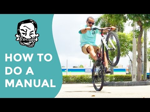 How to manual a MTB for beginners