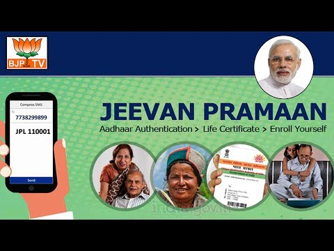 Jeevan Pramaan - Getting A Life Certificate Becomes Hassle Free