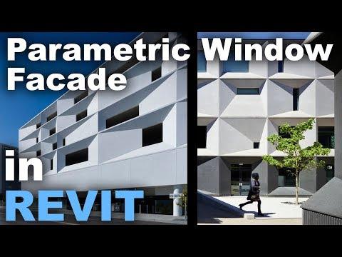 Parametric Window facade Design in Revit Tutorial