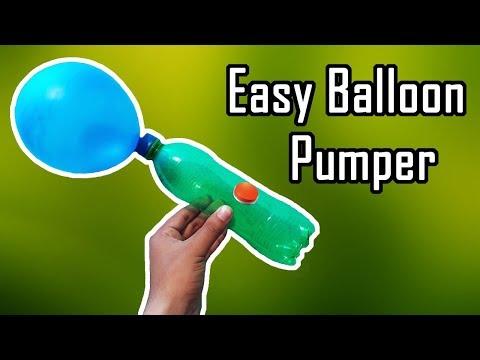 How to Make Air Pump Using Plastic Bottle   Homemade Air Pump