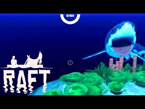 RAFT Full Release Gameplay - Treasure Island!! #4