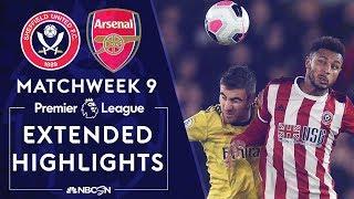 Sheffield United V Arsenal PREMIER LEAGUE HIGHLIGHTS 102119 NBC Sports