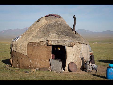 Making a Yurt in Kyrgyzstan