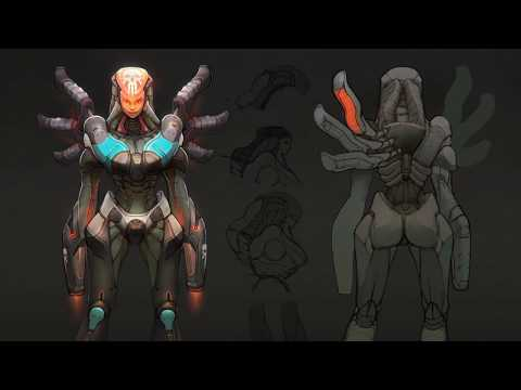 FPS Game Character Concept
