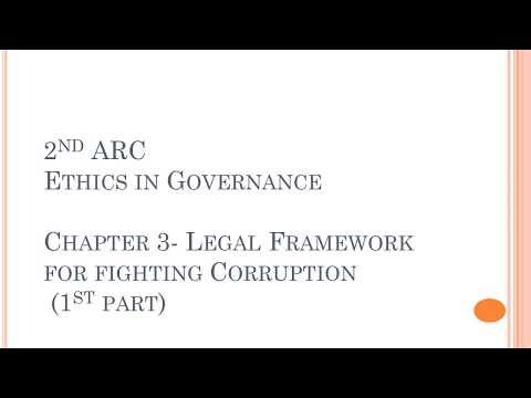 2nd ARC | Ethics in Governance | Chapter 3 (1/2)