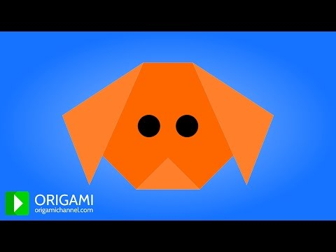 How to Make an Origami Dog - 3D Animated Tutorial! (4K)