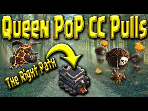 Queen POP LaLoon | TH9 Strategy Guide | Base Reading & Hard CC Pulls | Clash of Clans War