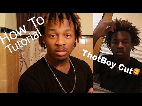 HOW TO: Freeform Dread/ Thot Boy Hairstyle/ Haircut Tutorial  (Real Thot Boy Cut)