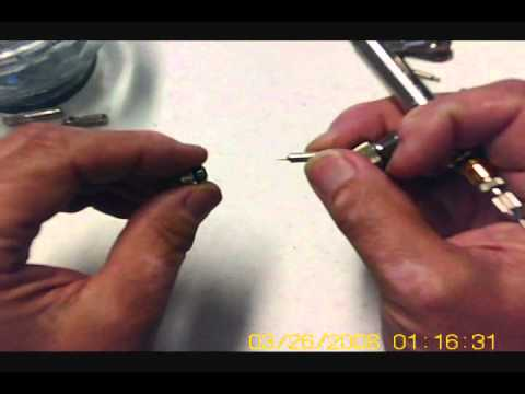 Cleaning your Infinity airbrush