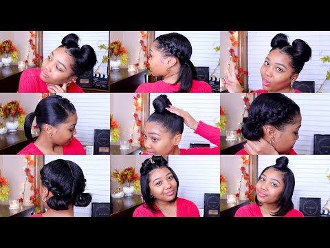 3 Easy Hairstyles For Short Medium Length Hair Ashley Bloomfield