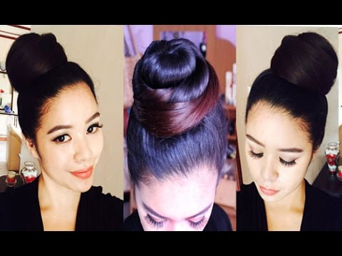 How I Do My Bun and How To Make it Stay in Place All Day( For Long Hair)-  Beautyklove