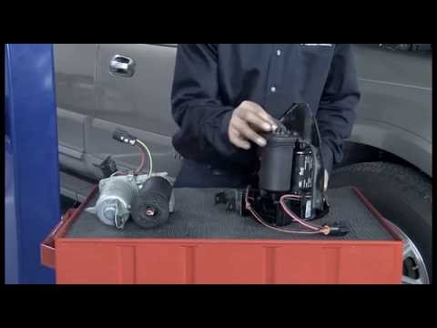 Replacing the suspension compressor on Ford Expedition / Lincoln Navigator