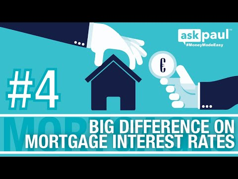 AskPaul Ep 4 - Big Difference On Mortgage Interest Rates