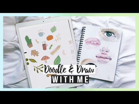 DOODLE & DRAW WITH ME