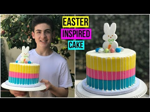 How To Make An EASTER INSPIRED CAKE - Baking With Ryan Episode 65
